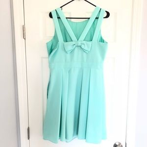Kate Spade Bow Dress *Zipper Repair Needed